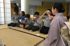 Tea Classes for Japanese school 2019