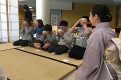Tea Classes for Japanese school 2019